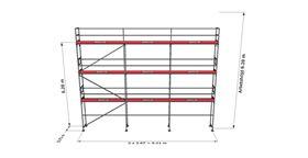 Bild på Rampaket stål 19 (9x8m)