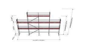 Bild på Rampaket stål 14 (12x6m + topp)