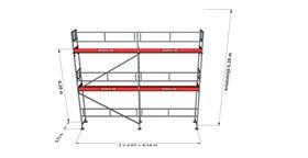 Bild på Rampaket alu 10 (6x6m)