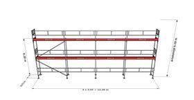 Bild på Rampaket alu 13 (12x6m)
