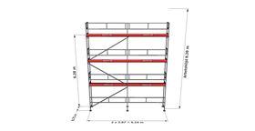 Bild på Rampaket alu 18 (6x8m)