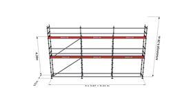 Bild på Modulställningspaket 11 (9x6m)
