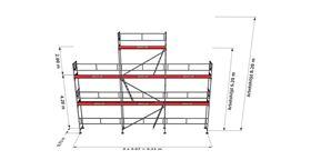 Bild på Ställningstrailer Paket 3