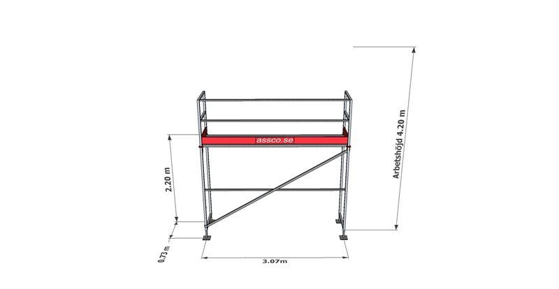 Bild på Rampaket stål 1 (3x4m)