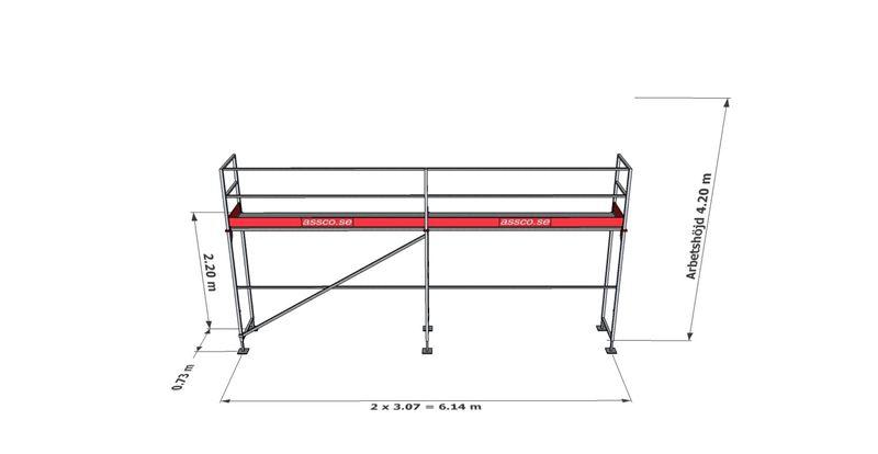 Bild på Rampaket stål 2 (6x4m)