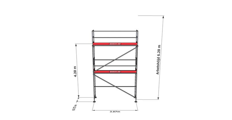 Bild på Rampaket stål 9 (3x6 m)