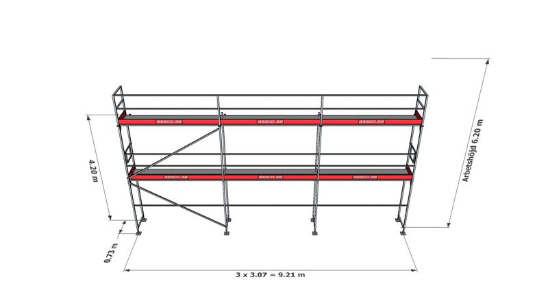 Bild på Rampaket stål 11 (9x6m)