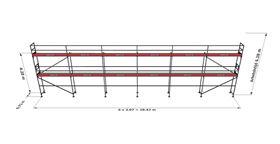 Bild på Rampaket stål 16 (18x6m)