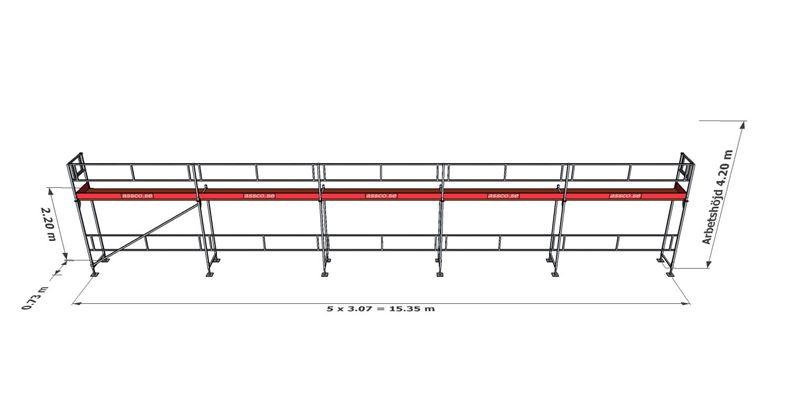 Bild på Rampaket alu 7 (15x4m)