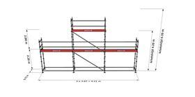 Bild på Modulställningspaket 4 (9x4 med topp)
