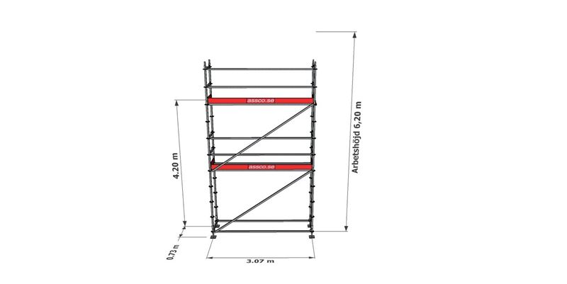 Bild på Modulställningspaket 9 (3x6m)