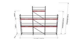 Bild på Modulställningspaket 12 (9x6m + topp)