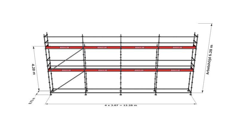 Bild på Modulställningspaket 13 (12x6m)