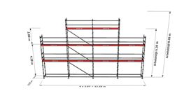 Bild på Modulställningspaket 14 (12x6m + topp)