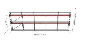 Bild på Modulställningspaket 15 (15x6m)
