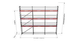 Bild på Modulställningspaket 19 (9x8m)
