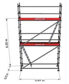 Bild på Stegplan till Modulställning 2 våningar