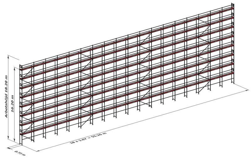 Bild på Rampaket stål 1006 m²
