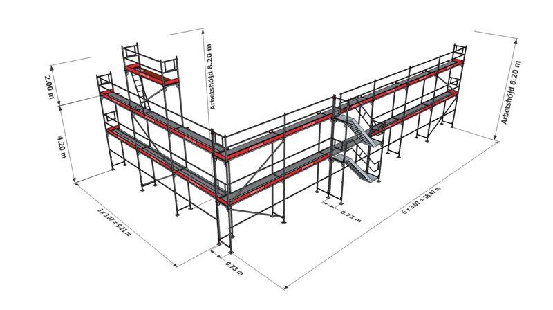 Bild på Halva Villan ram stål (177 m²)