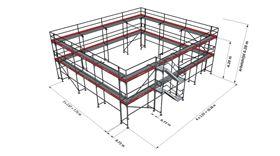 Bild på Lilla hela Villan ram stål (223 m²)