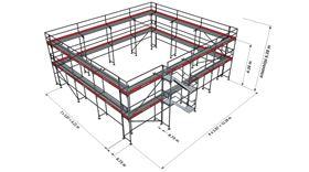 Bild på Lilla hela Villan ram stål (266 m²)