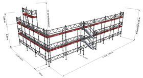 Bild på Modul Halva Villan (177 m²) med Dubbelräcke